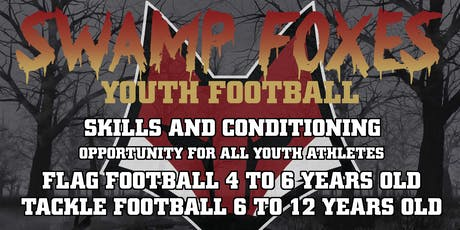 Free Football skills and conditioning camp tickets