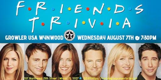 Friends Trivia at Growler USA Wynwood