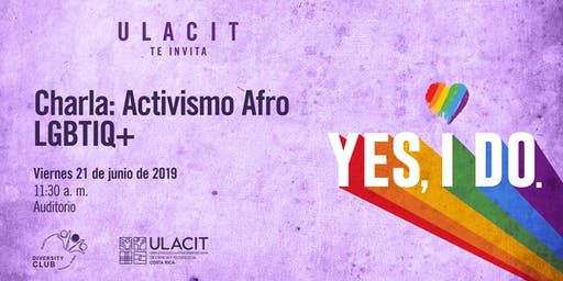 #PrideWeek Charla: Activismo Afro LGBTIQ+