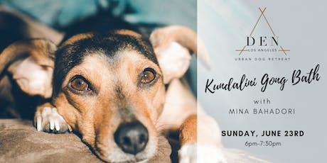 Kundalini Gong Bath tickets
