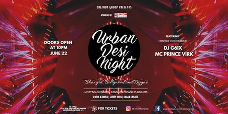 Urban Desi Night tickets