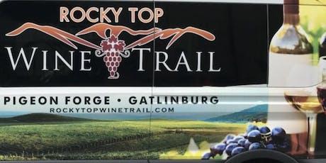 VIP Shuttle Tour - Rocky Top Wine Trail tickets