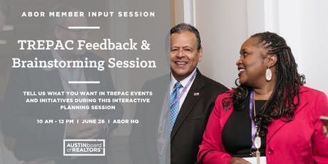 TREPAC Feedback & Brainstorming Session tickets