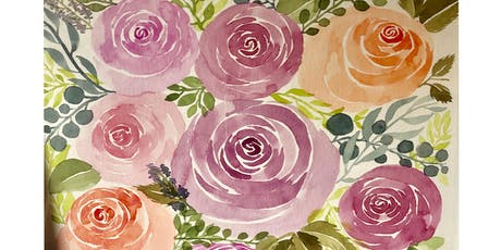 Intro to Watercolor Florals tickets