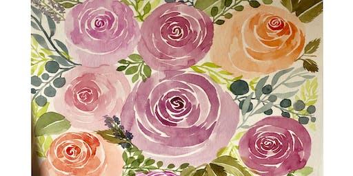 Intro to Watercolor Florals