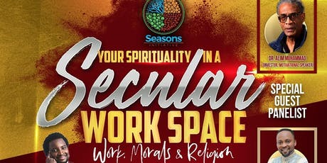 Your Spirituality In A Secular Work-Space tickets