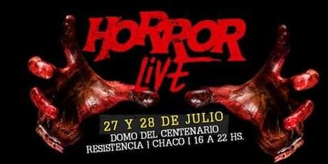 Horror Live entradas
