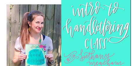 Intro to Handlettering Class tickets