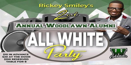 WHS Rickey Smiley 2nd Annual ALL WHITE PARTY tickets