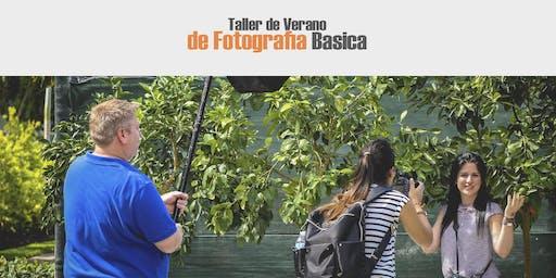 INSCRIPCION TALLER DE VERANO DE FOTOGRAFIA BASICA
