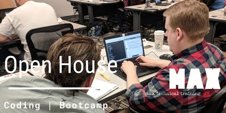 MAX Coding Bootcamp Open House tickets