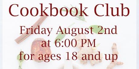 Cookbook Club in August tickets