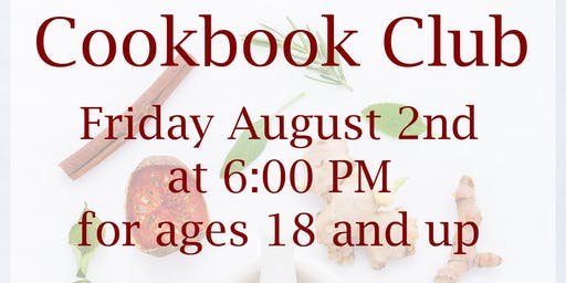 Cookbook Club in August