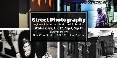 Street Photography with Lana Blinderman & Michael T. Perkins tickets