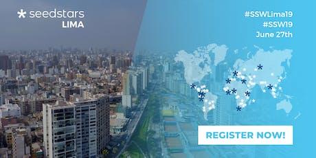 Seedstars Lima 2019 entradas