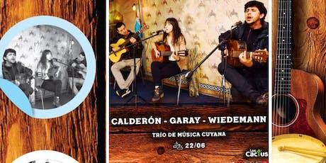 Trío de Música Cuyana; Calderón-Garay-Wiedemann entradas