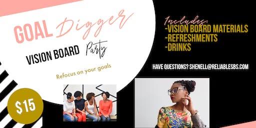 GOALdigger Vision Board Party - Let's get back on track girl!