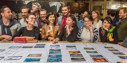 """Formation à l'animation """"La fresque du climat"""" - S Kersulec - Marseille"""