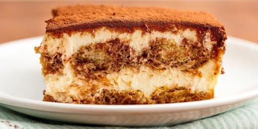 Adult Baking Class - How to: Tiramisu & Tiramisu Martinis