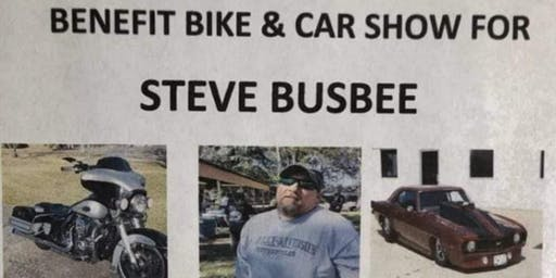 Benefit Bike & Car Show for Steve Busbee