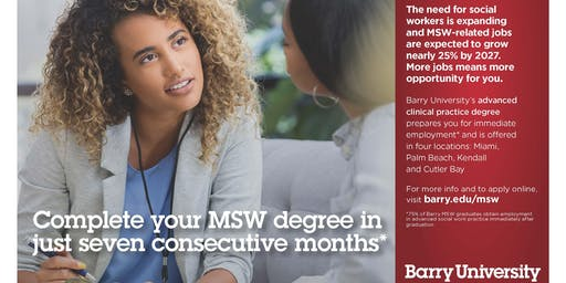 MSW - Masters in Social Work Information Session (West Palm Beach)