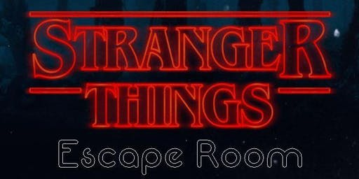 Stranger Things Escape Room