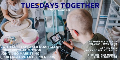 Tuesdays Together June Meetup - VIDEO MARKETING tickets