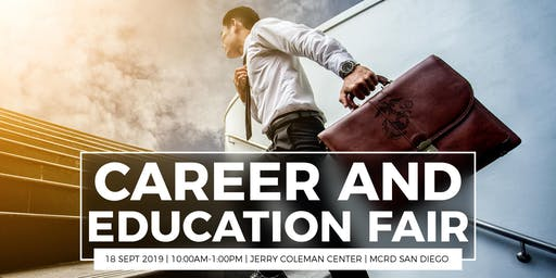 Career and Education Fair Attendee Registration - September 2019