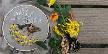 Extinct Embroidery: Eastern Elk tickets