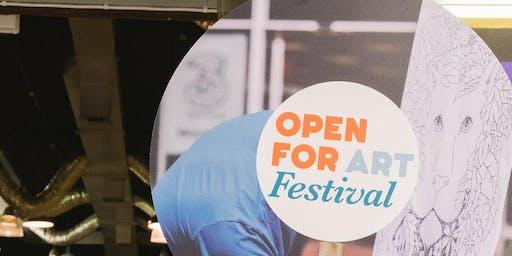 Open for Art 2019 - Fred Bennett - Artists Residency