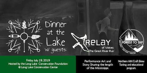 Celebrating the Great River with the Relay of Voices, Forest to Tap Beer Tasting and MN Walleye Dinner
