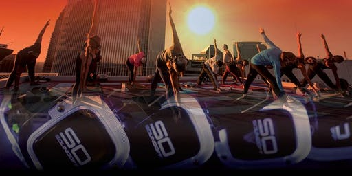 """""""Sound off at Sunset"""" Rooftop Yoga X Wellbridge Fitness"""