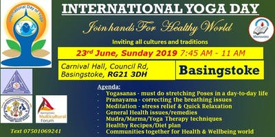 International Yoga Day in Basingstoke - Manavata