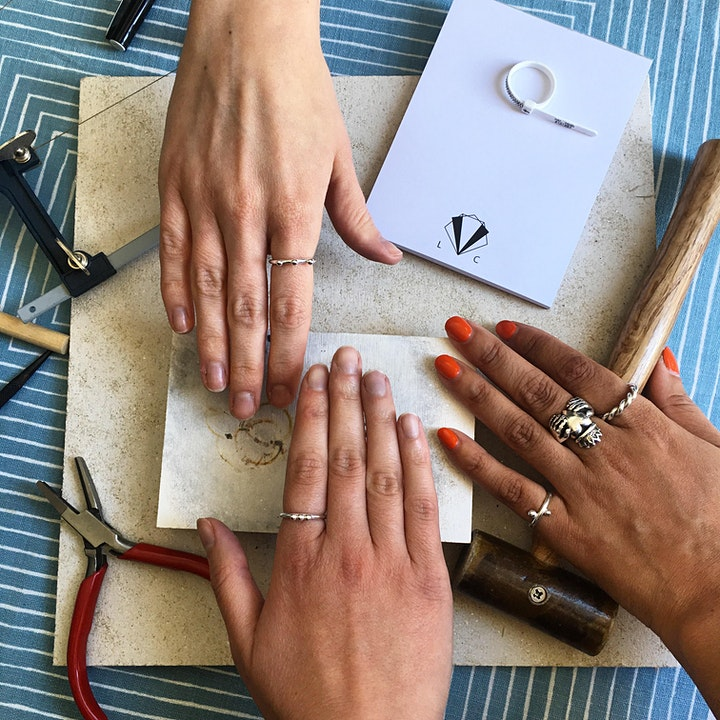 International Women's Day - Ring Making with Lucy Charlotte @  Cottonopolis image