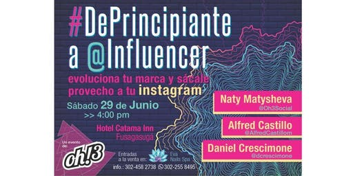 #DePrincipiante a  @influencer