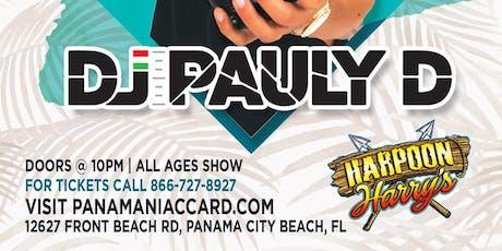 DJ PAULY D LIVE IN CONCERT:  SUMMER CONCERT SERIES tickets