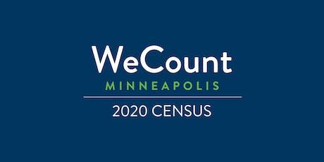 2020 Census Neighborhood Gathering tickets