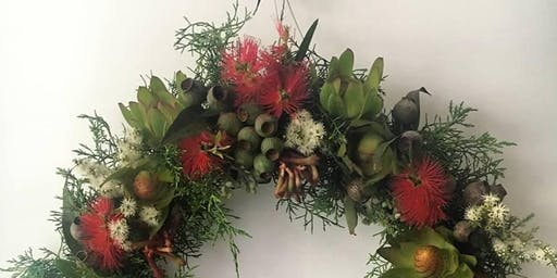 Christmas Wreath Workshop & Lunch with Silvertree Botanics