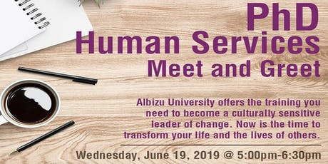 PhD Human Services Meet and Greet - Prospective Students tickets