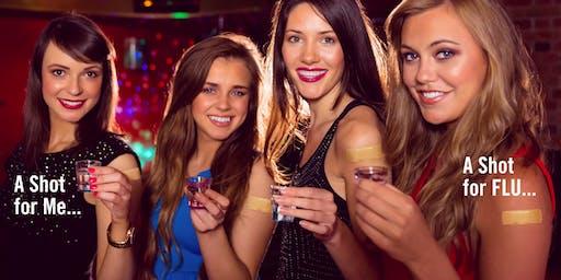 Flu Shots & Drink Shots -- Immunology @ a Bar!