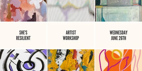 She's Resilient: Artist Workshop tickets