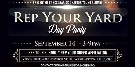 Rep Your Yard Day Party tickets