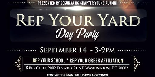 Rep Your Yard Day Party