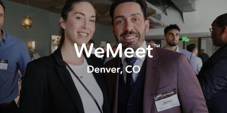 WeMeet Denver Networking & Happy Hour tickets