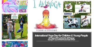TODDLER YOGA  For 2-4 Years Old & Their Parent Or Carer