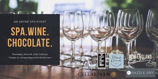 Spa, Wine & Chocolate: an Artne Spa event