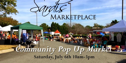 Free Community Pop Up Market