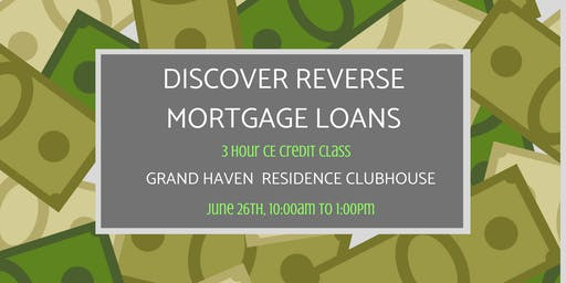 Discover Reverse Mortgage Loans