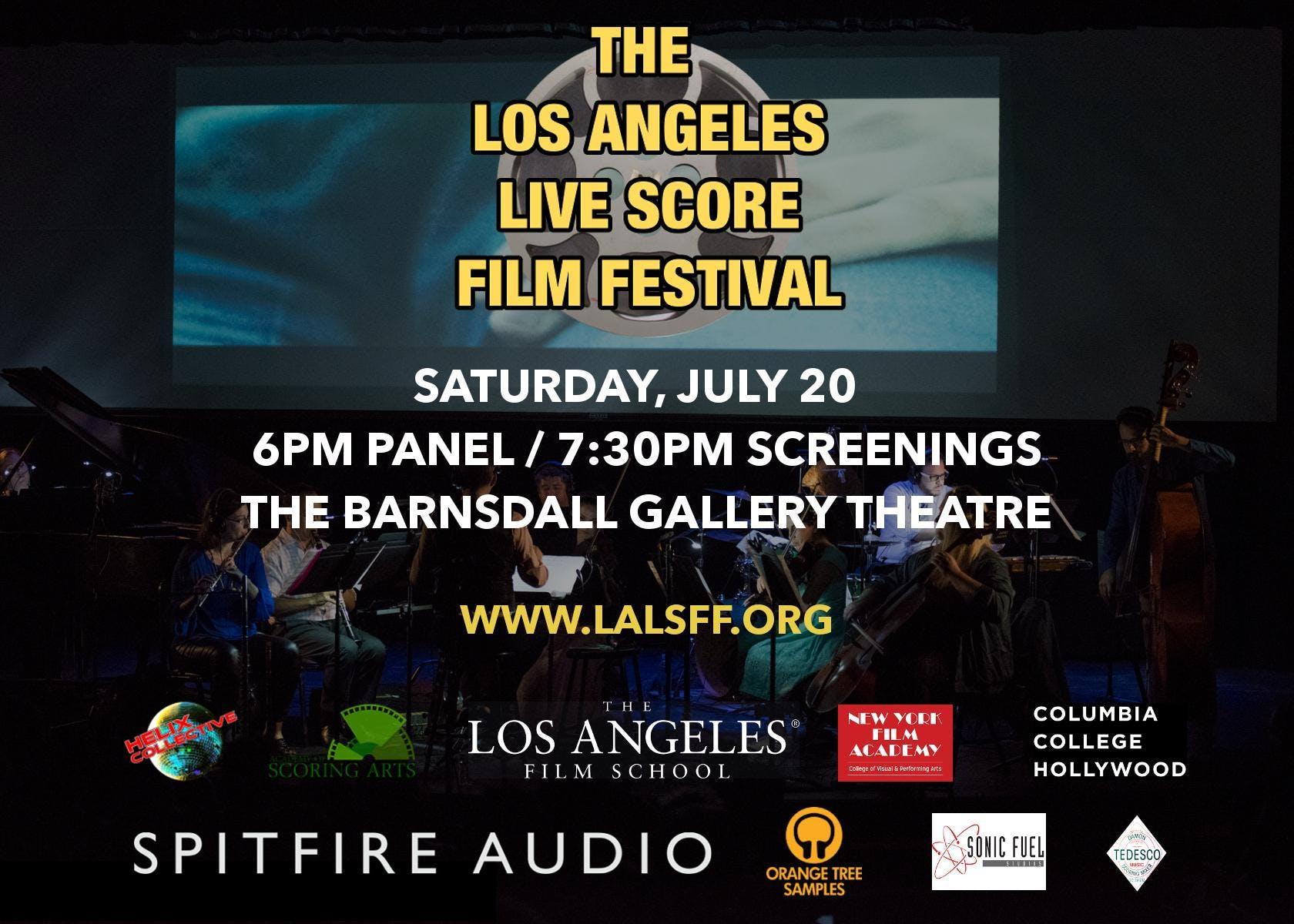 Los Angeles Live Score Film Festival 2019