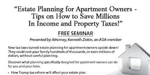 """Estate Planning for Apartment Owners – Tips on How to..."